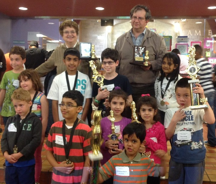 our winners of Central Jersey Chess tournament